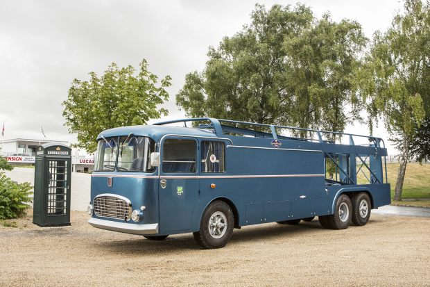 Yours for £500k: Fiat transporter that starred in Le Mans