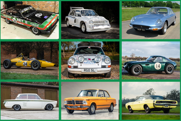12 exciting cars at Silverstone Auctions' Autosport sale