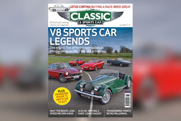 V8 sports car legends: Inside the June 2019 issue of C&SC