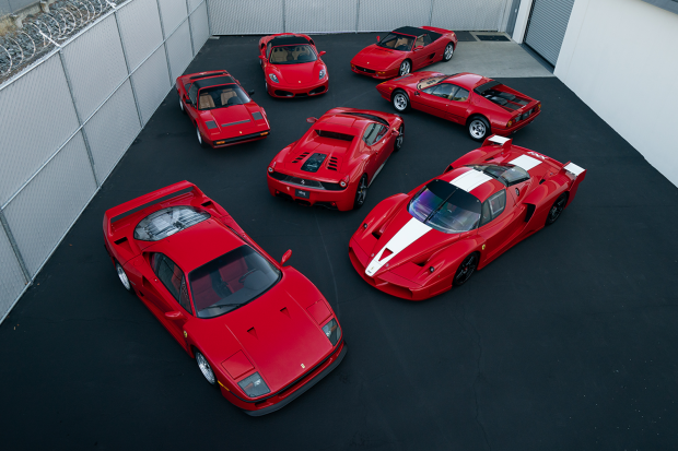 Is This 5m Ferrari Collection The Best You Ll See This Year Classic Sports Car