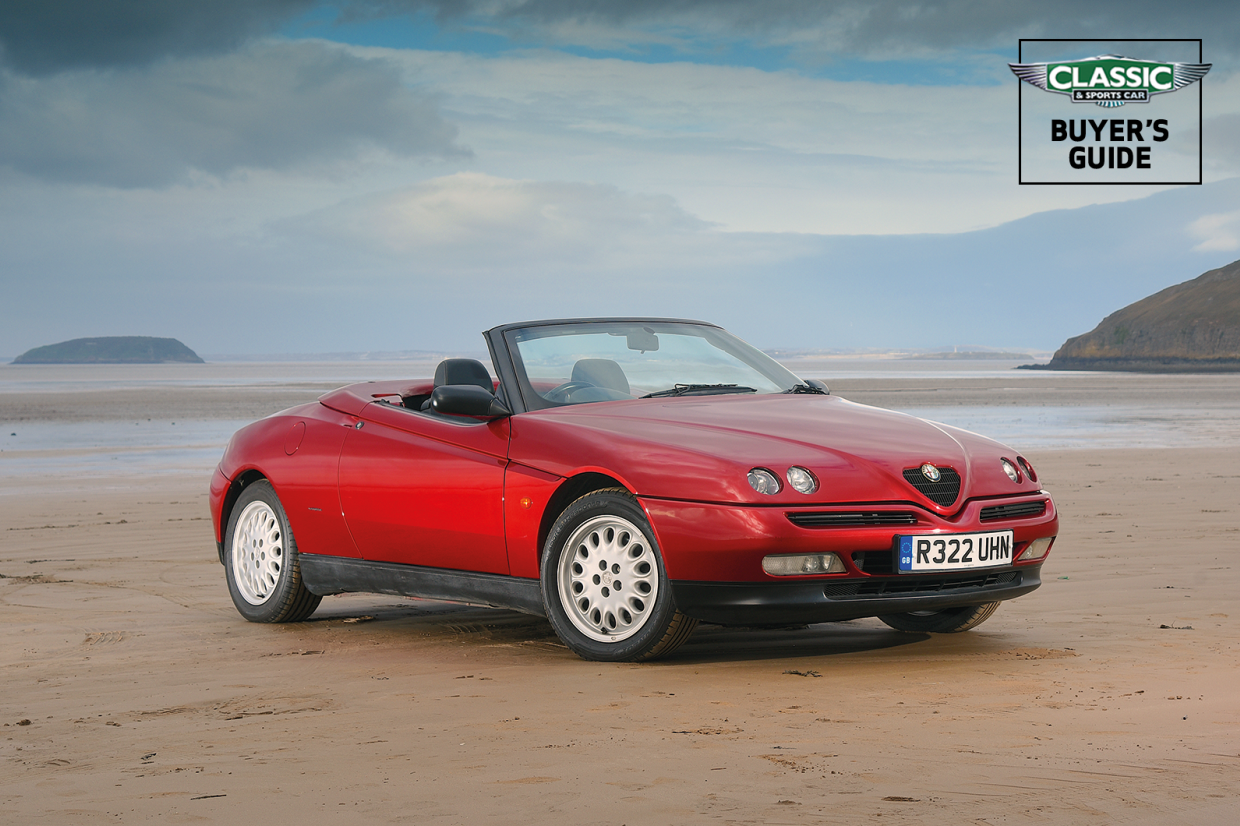 alfa romeo spider 916 buyer s guide what to pay and what to look for classic sports car. Black Bedroom Furniture Sets. Home Design Ideas