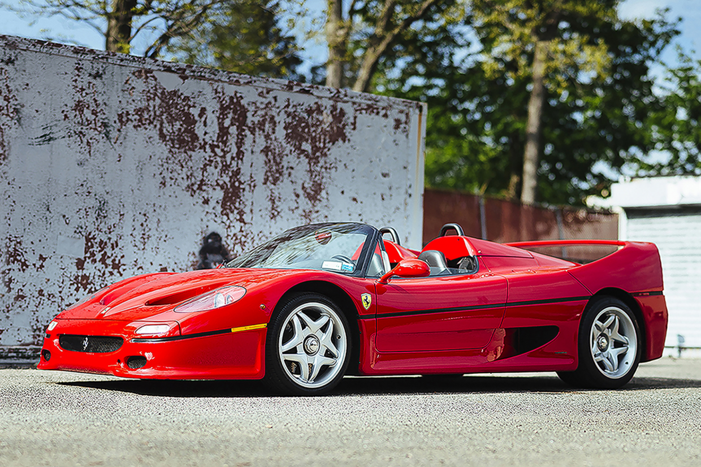 Unique Ferrari F50 Headlines Desert Sale Classic Sports Car