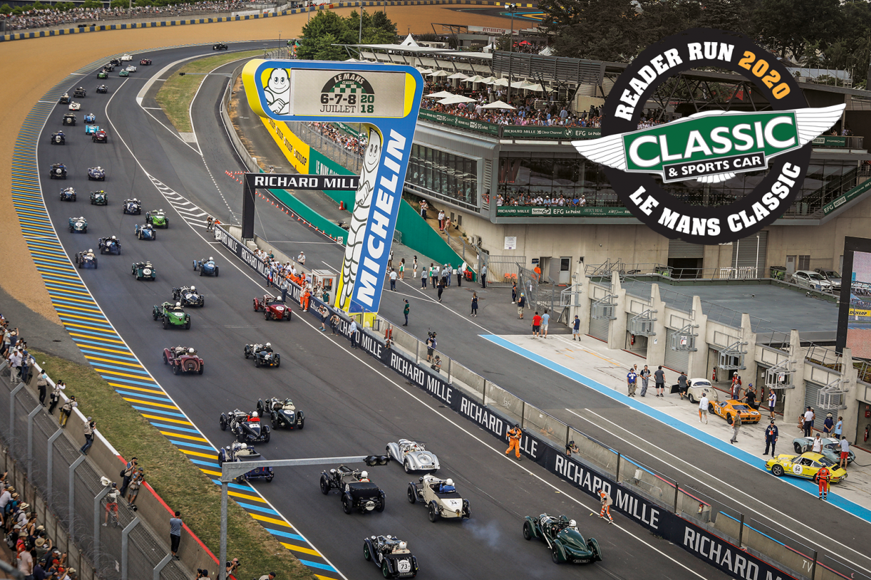 Classic & Sports Car – New date for Le Mans Classic and C&SC's Reader Run