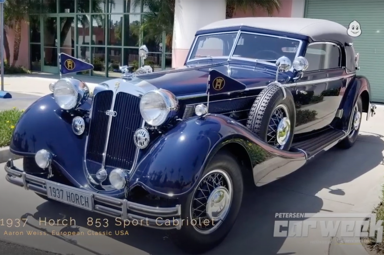 Classic & Sports Car – Horch is Best of Show at Petersen Concours d'Elegance