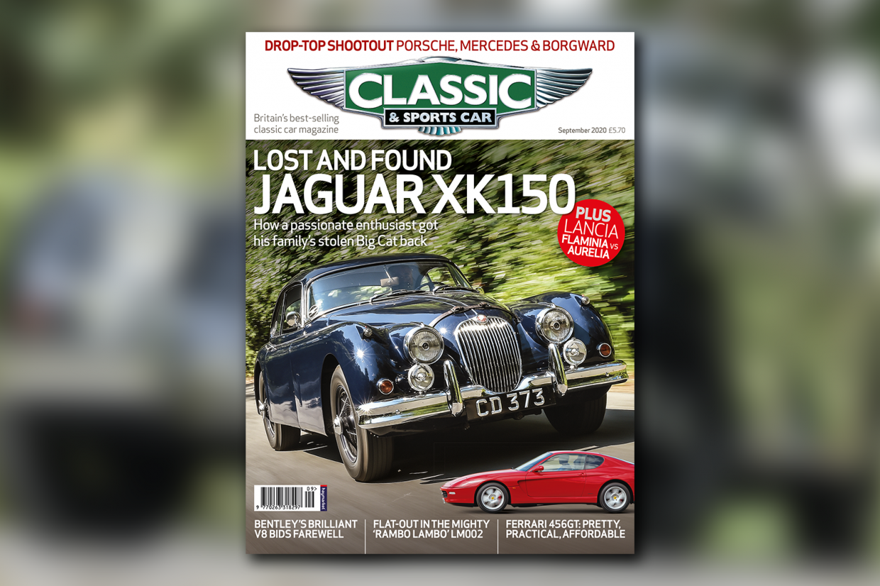 Classic & Sports Car – Jaguar reunited: inside the September 2020 issue of C&SC