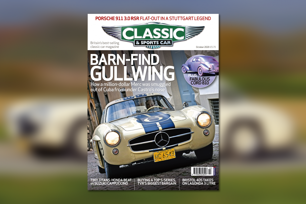 Classic & Sports Car – Barn-find Gullwing: inside the October 2020 issue of C&SC