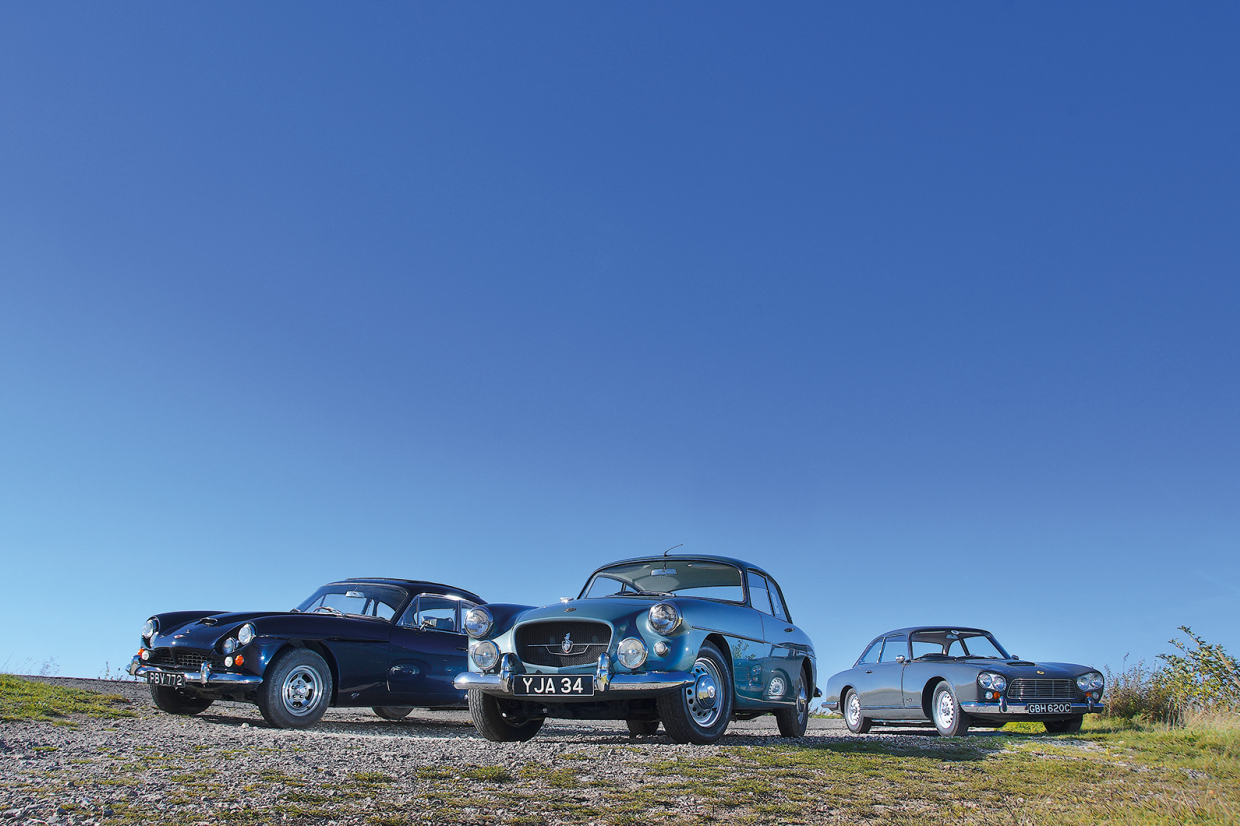 Classic & Sports Car – Transatlantic hybrids: Bristol 407, Jensen C-V8 and Gordon-Keeble GK1