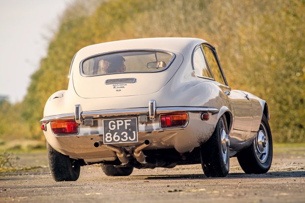 Meet the 'Ghost' E-type: Jaguar's missing link