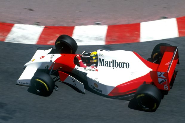 Ayrton Senna's F1-winning McLaren up for auction