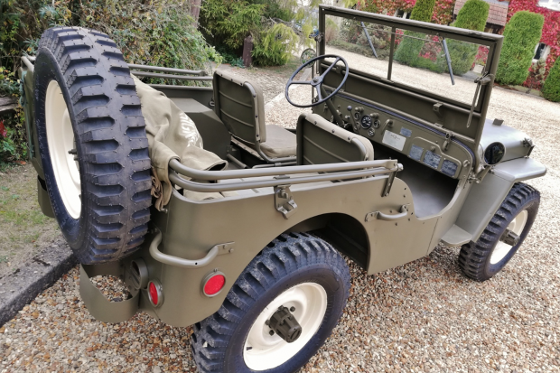 Classic & Sports Car – Steve McQueen's Willys Jeep is for sale