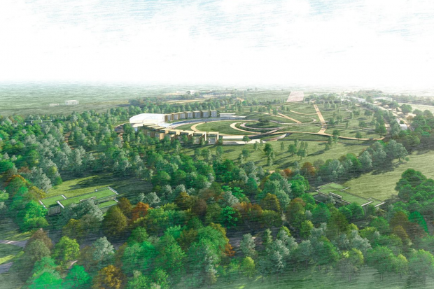 New plans submitted for UK Mullin Museum