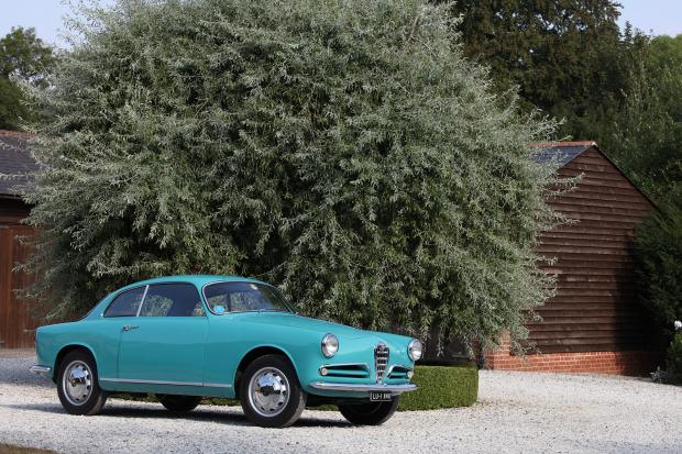 Classic & Sports Car – An Alfa Romeo Giulietta Sprint like no other