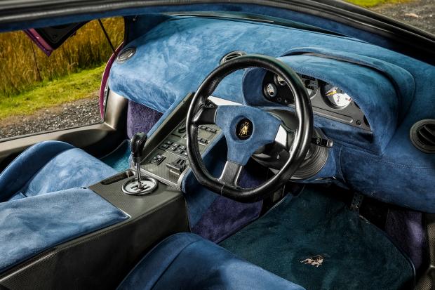 One lamborghini kay Jamiroquai Lamborghini