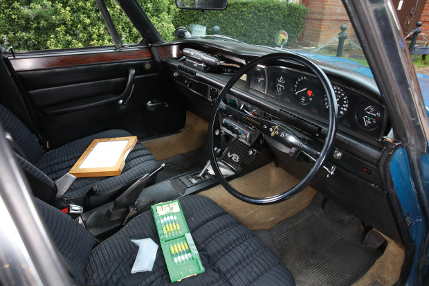 Inside the UK's finest private collection of classic police cars