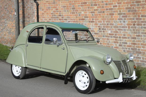 Classic & Sports Car – Classifieds tested: Citroën 2CV for £7750