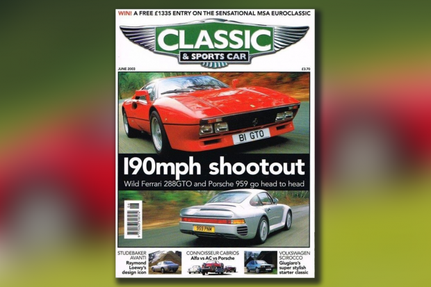Classic & Sports Car – Former C&SC cover star Ferrari stolen on test drive