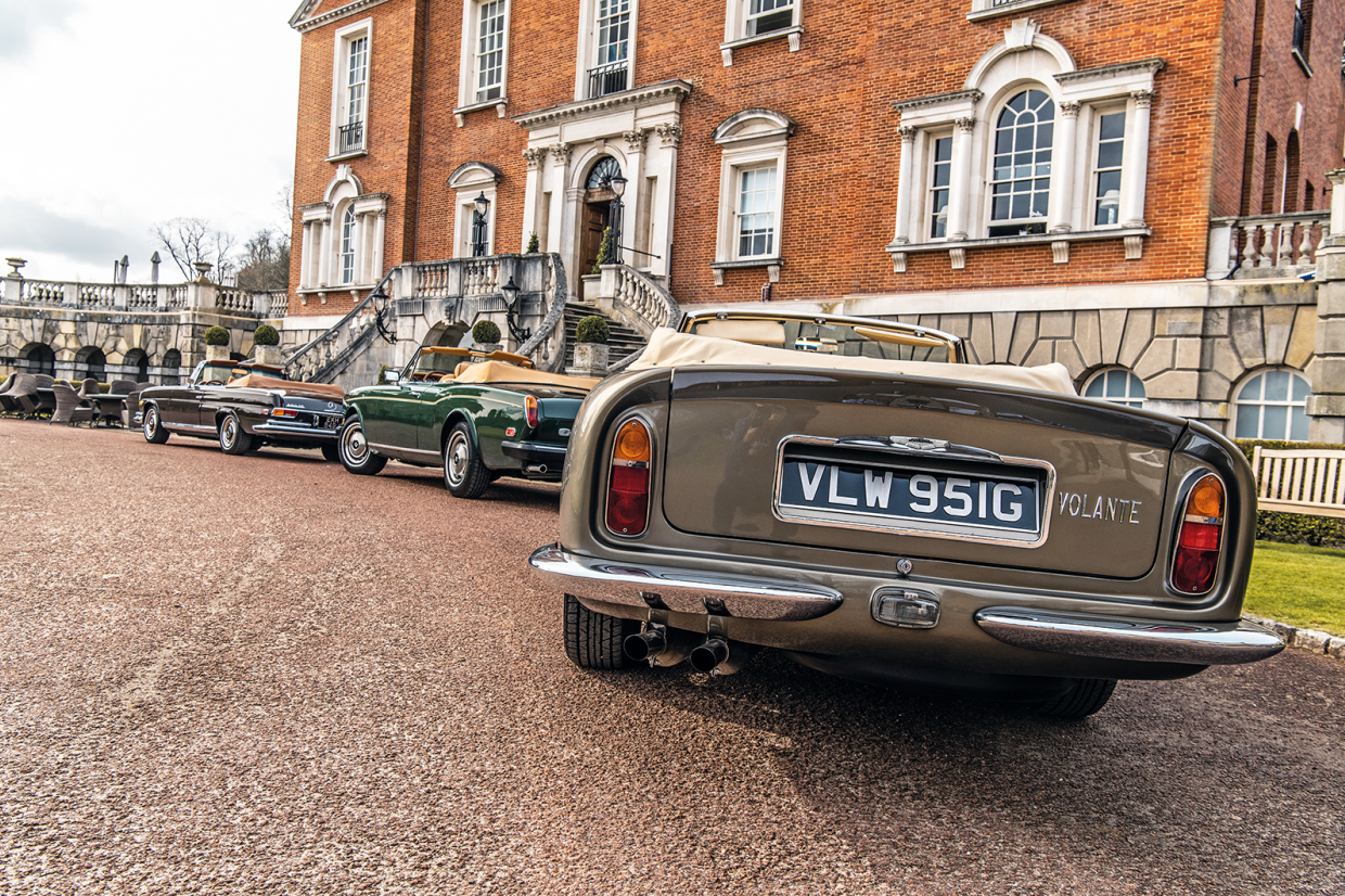 Classic & Sports Car – Dream drop-tops: Aston vs Mercedes vs Citroën vs Jensen vs Rolls