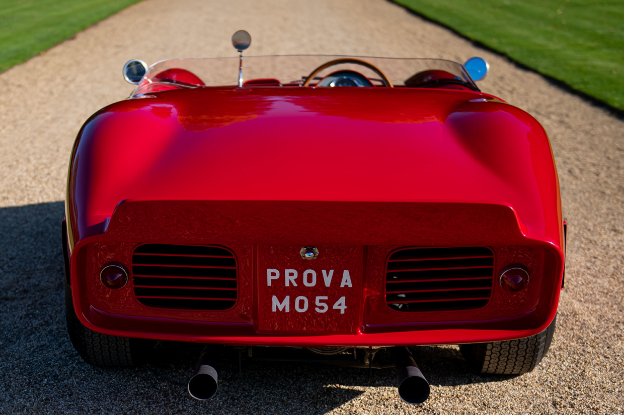Classic & Sports Car – Rare 'shark-nose' Ferrari to debut at new British concours