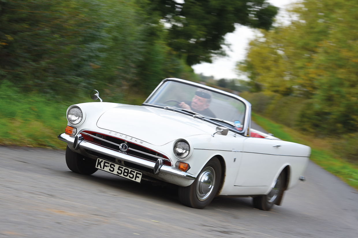 Driving the Sunbeam Tiger