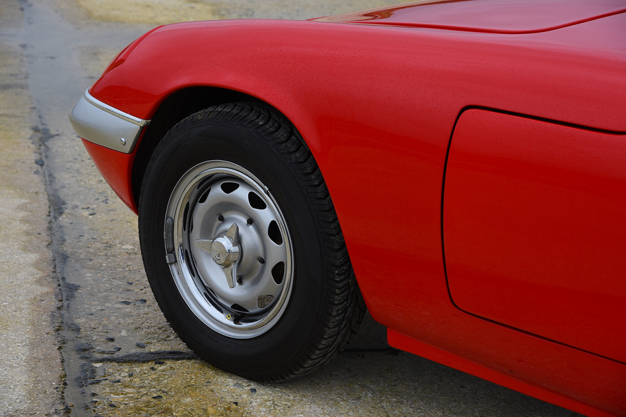 Lotus Elan wheel