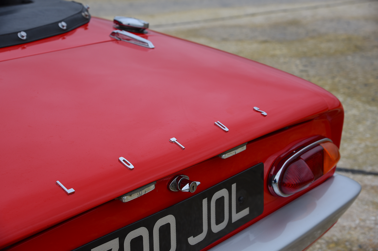 Lotus Elan rear detail