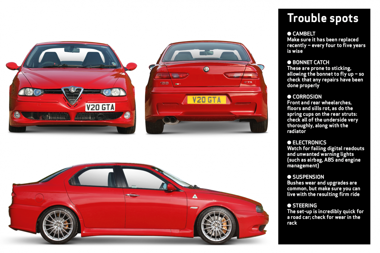 Alfa Romeo 156 Gta Buyer S Guide What To Pay And What To Look For Classic Sports Car