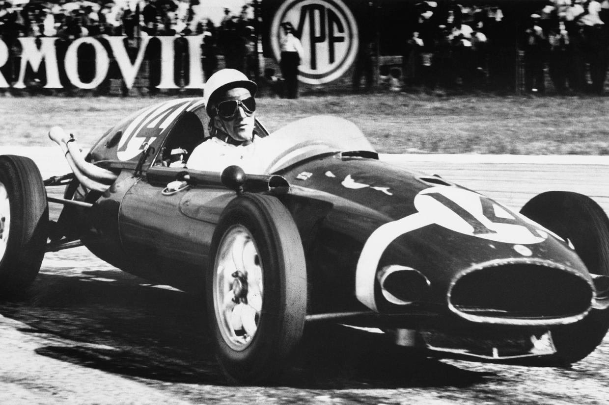 Stirling Moss claims a historic victory at Buenos Aires in his Cooper-Climax