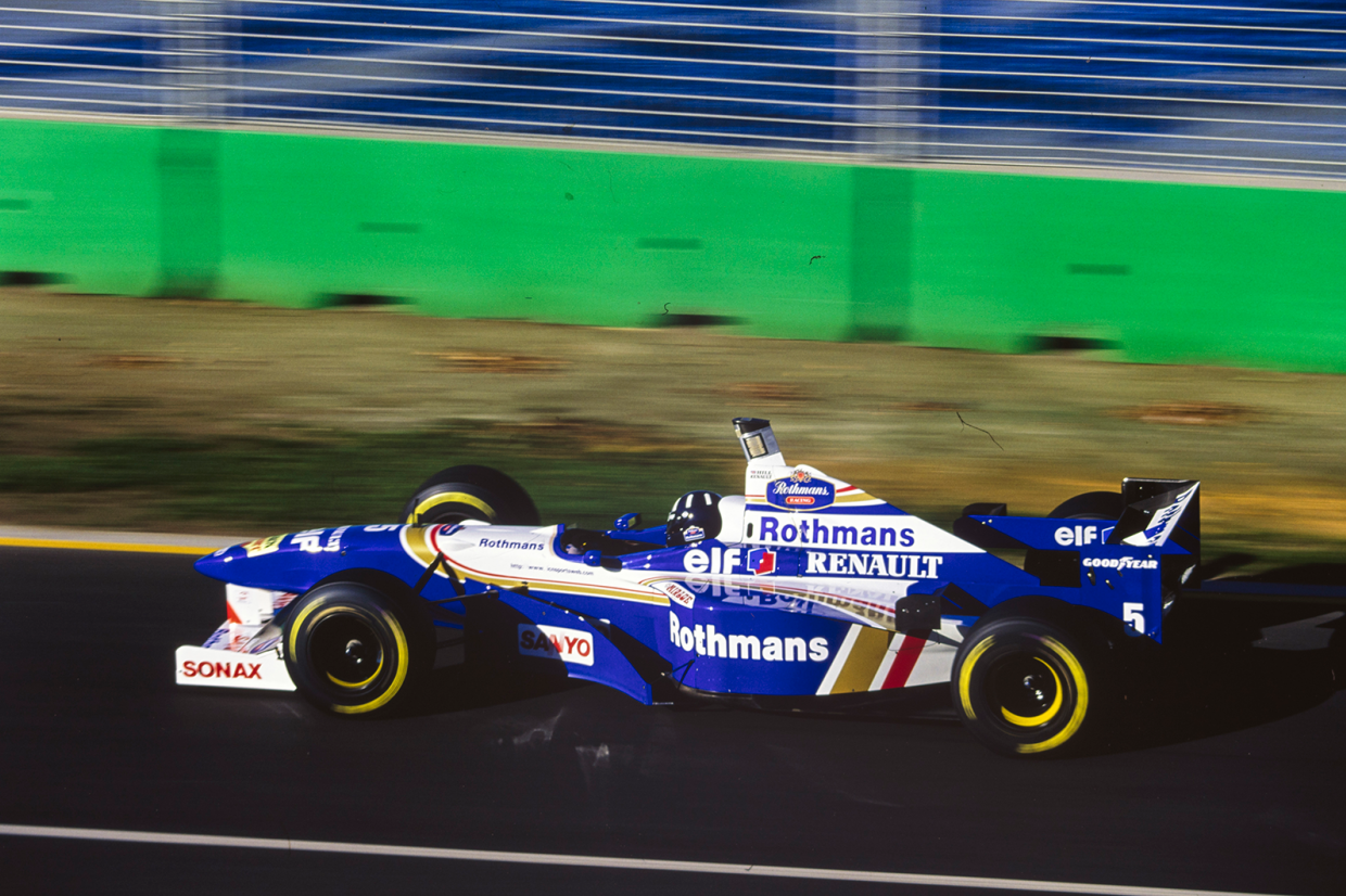 …and was back Down Under to win again for Williams at the first race of 1996
