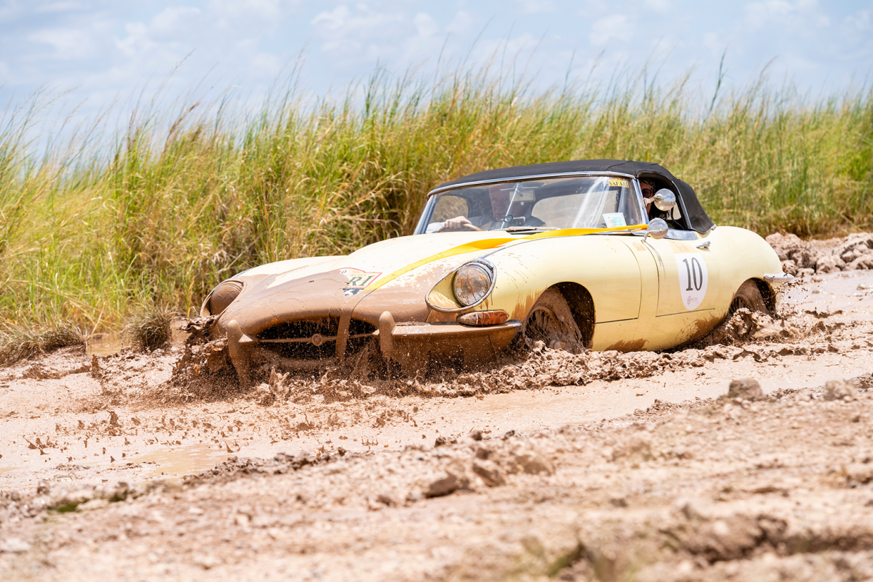 Clint and Dawn Smith's E-type battles on