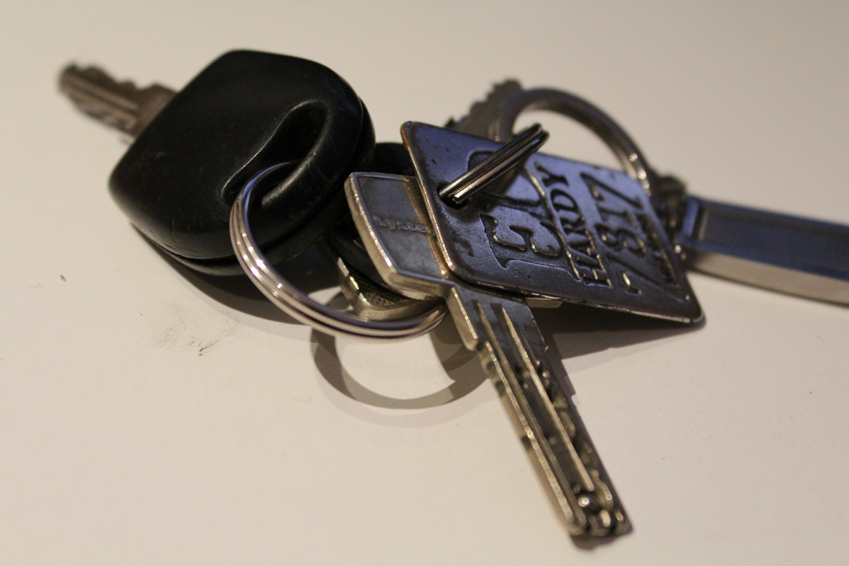 Disinfect your classic car's keys when you get them back