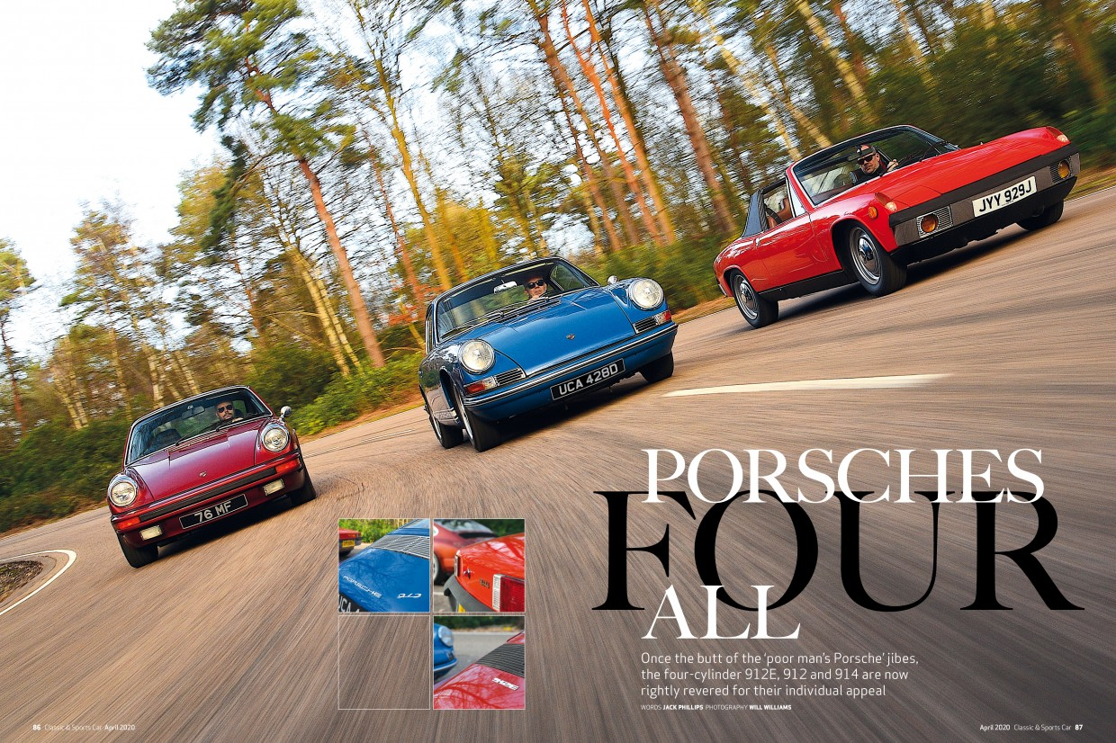 Classic & Sports Car – Porsche's underdogs: inside the April 2020 issue of C&SC