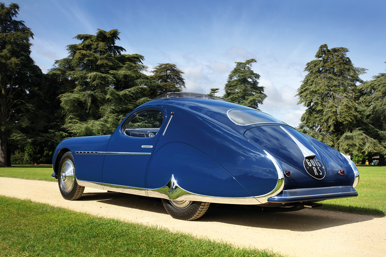 Classic & Sports Car – Concours sensation: Talbot-Lago T26 Grand Sport