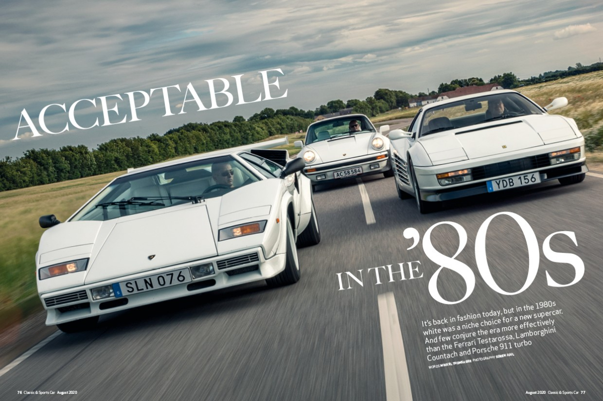 Classic & Sports Car – '80s supercar showdown: inside the August 2020 issue of C&SC