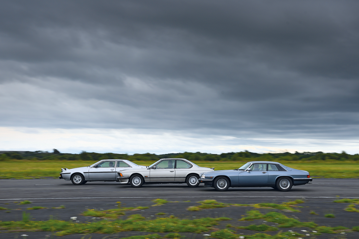 Classic & Sports Car – A question of taste: BMW 635CSi vs Jaguar XJ-S vs Bitter SC