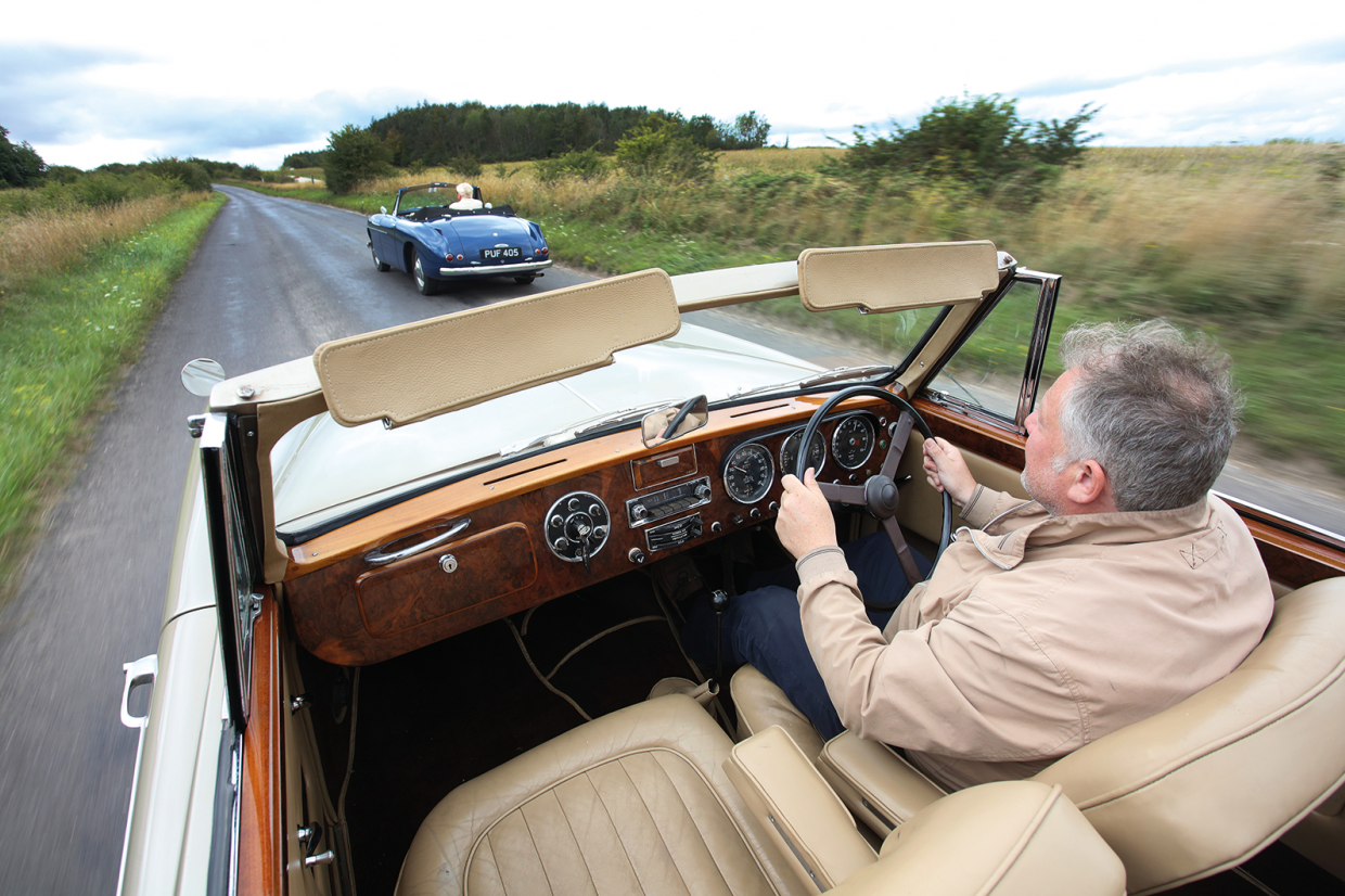 Classic & Sports Car – From the past with presence: Bristol 405 vs Lagonda 3 Litre