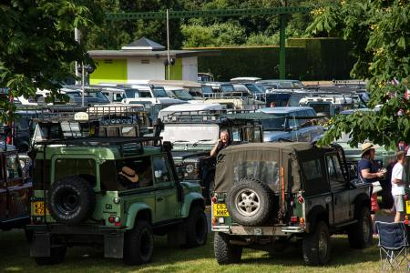 Classic & Sports Car – Simply Land Rover hits new heights for marque's 70th