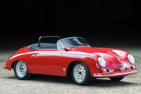 Classic & Sports Car – Ultra-rare Porsche 356 Speedster in British concours debut