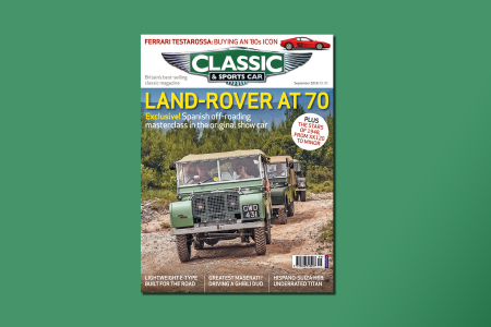 Land-Rover at 70: Inside the September 2018 issue of C&SC