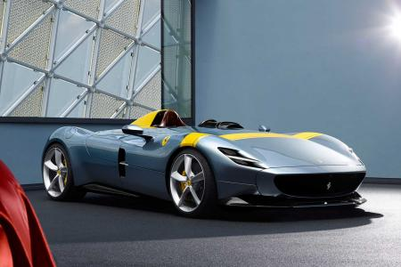 Classic & Sports Car – Ferrari's new Monza SP1 and SP2 hark back to the '50s in style