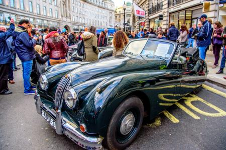 Classic & Sports Car – Classic Jaguar celebration at Regent Street show