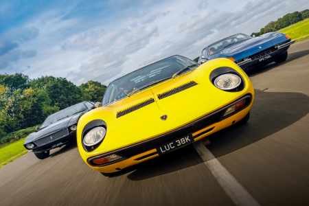 Battle of the supercars: Lamborghini Miura SV vs Ferrari 365GTB/4 Daytona vs De Tomaso Mangusta