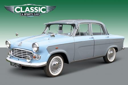 Classic & Sports Car – Classifieds tested: Standard Vanguard Luxury 6 for £7950