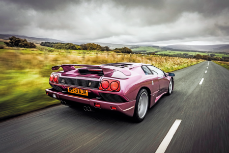A beauty and a beast: driving the Lamborghini Diablo SE30