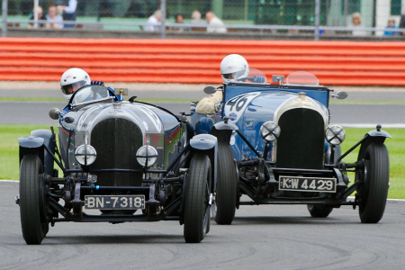 Classic & Sports Car – Bentley's 100th gets top billing at Silverstone Classic