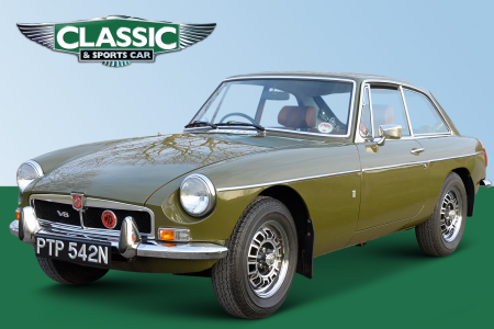 Classic & Sports Car – Classifieds tested: MGB GT V8 with just 4100 miles!
