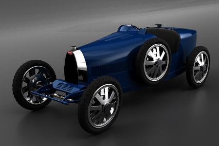 Classic & Sports Car – Bugatti Baby is back