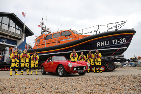 Classic & Sports Car – How two Ferraris paid for a new RNLI lifeboat