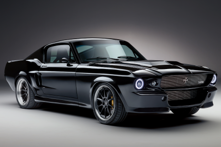 Classic & Sports Car – Classic electric Ford Mustang revealed