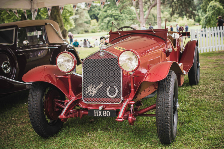 Classic & Sports Car – Double win for 1931 Alfa Romeo at Chateau Impney concours