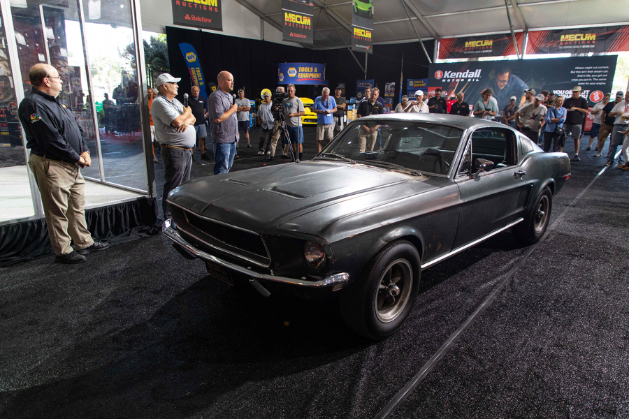 Classic & Sports Car – The original Bullitt Mustang is for sale!